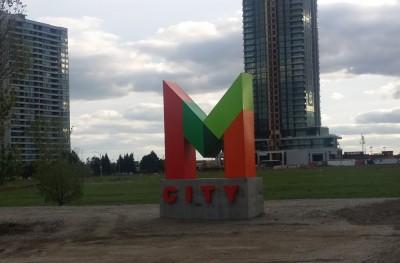 MCity Condos Mississauga Development Site