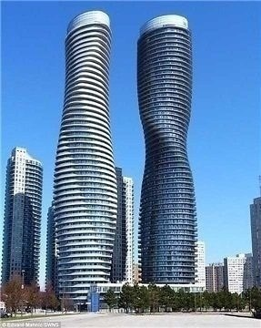 2 Bed Condo, 60 Absolute (Lease)  Ave, Mississauga