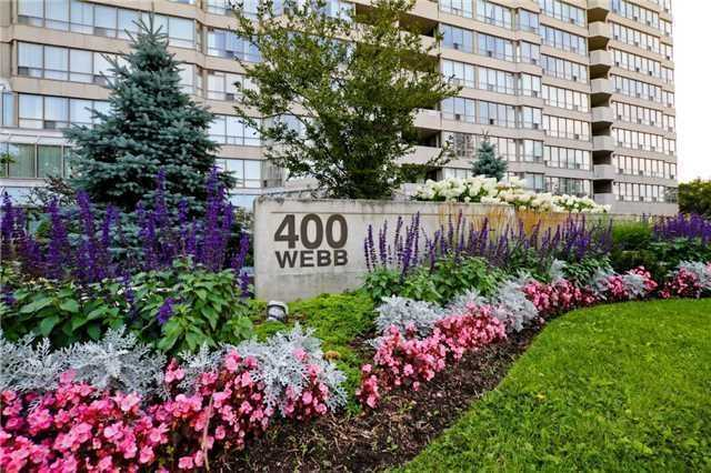 2 Bed Condo, 400 Webb Dr, Mississauga